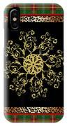Rustic Snowflake-jp3694 IPhone Case