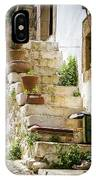 Rustic Steps In Crete IPhone Case