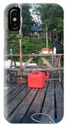 Rustic Summer Dock IPhone Case