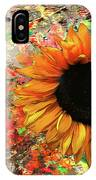 Rustic Sunroot IPhone Case