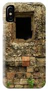 Rustic Wall IPhone Case