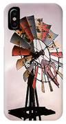 Rustic Windmill IPhone Case