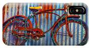 Rusty Bike With Lights IPhone Case