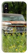 Rusty But Still Standing In Texas IPhone Case