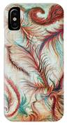 Rusty Feathers IPhone Case