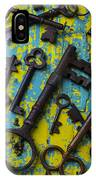 Rusty Keys IPhone Case