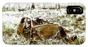 Rusty Old Holden Car Wreck  IPhone Case