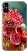 Rusty Rooster IPhone Case