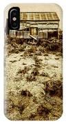 Rusty Rural Ramshackle IPhone Case