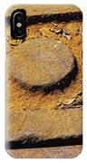 Rusty Texture Macro IPhone Case