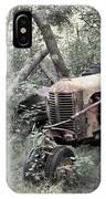 Rusty Tractor 2  IPhone Case