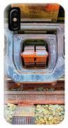 Rusty Wheels IPhone Case