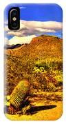 Sabino Canyon Panorama No. 1 IPhone Case