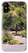 Sabino Canyon Road IPhone Case