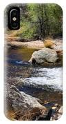 Sabino Creek Falls IPhone Case