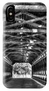 Sachs Bridge - Gettysburg - Bw-hdr IPhone X Case
