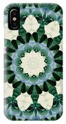 Sacramento Green And Cerulean Blue Mandala IPhone Case