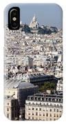 Sacre Coeur At The Summit Of Montmartre Paris IPhone Case