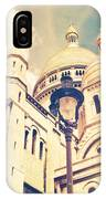 Sacre Coeur Church Vintage Shabby Chic Style IPhone Case