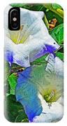 Sacred Datura IPhone Case