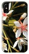 Sacred Heart Flowers IPhone Case