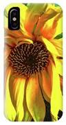 Sad Sunflower IPhone Case