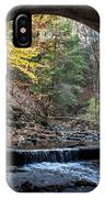 Sagamore Creek Tunnel Entry IPhone Case