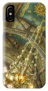 Sage Chapel Ceiling And Light IPhone Case
