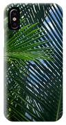 Sago Palm Fronds IPhone Case