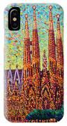 Sagrada Familia Barcelona Spain IPhone Case
