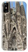 Sagrada Familia - Gaudi Designed - Barcelona Spain IPhone Case