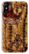 Saguaro Detail No. 18 IPhone Case
