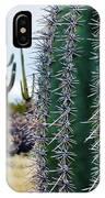 Saguaro National Park Portrait IPhone Case