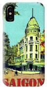 Saigon, Ho Chi Mihn City, Vietnam IPhone Case