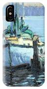 Sailboat At Rest IPhone Case