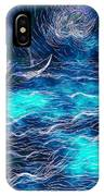 Sailboats In A Storm IPhone Case