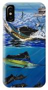 Sailfish In Costa Rica IPhone Case