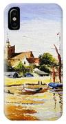 Sailing At Maldon IPhone Case
