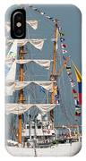 Sailing By The Battery IPhone Case