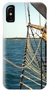 Sailing Ship Prow On The Caribbean IPhone Case