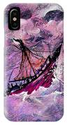 Sailing The Heavens IPhone Case