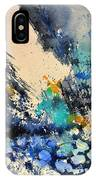 Sailing Watercolor IPhone Case