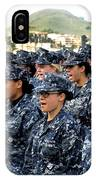 Sailors Yell Before An All-hands Call IPhone Case