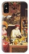 Saint Eligius In His Workshop IPhone Case