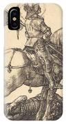 Saint George On Horseback IPhone Case