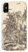 Saint George Slaying The Dragon IPhone Case