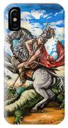 Saint George IPhone Case