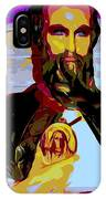 Saint Holding Medallion IPhone Case