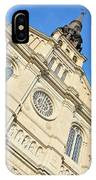 Saint Jean Baptiste Church In Quebec City IPhone Case