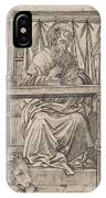 Saint Jerome In His Study IPhone Case